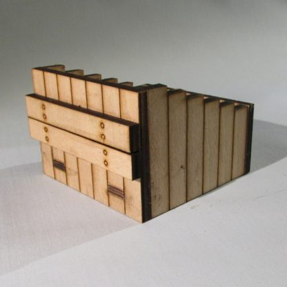 Wooden Buffer Stops - Untreated