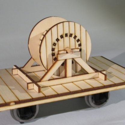 Wooden Cable Drum - general view