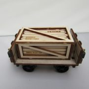 Medium Packing Crate on wagon