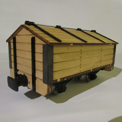 Permanent Way Department Tool Wagon - 3/4 view