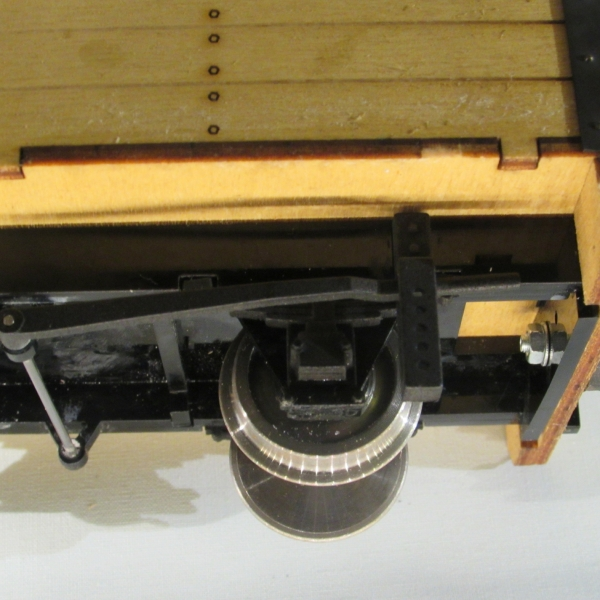 Permanent Way Department Tool Wagon - Brake Lever