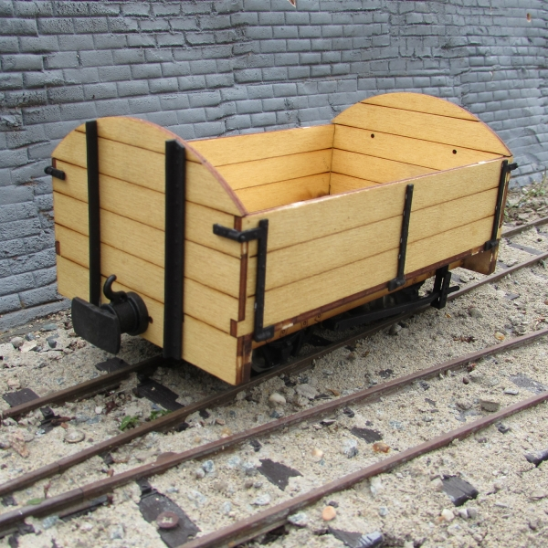 Southwold Open Goods Wagon - General view