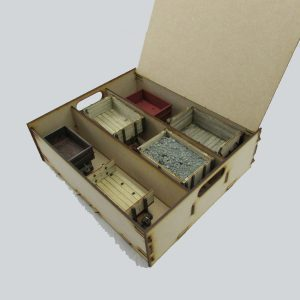 Modest Industrial Storage Box - example contents