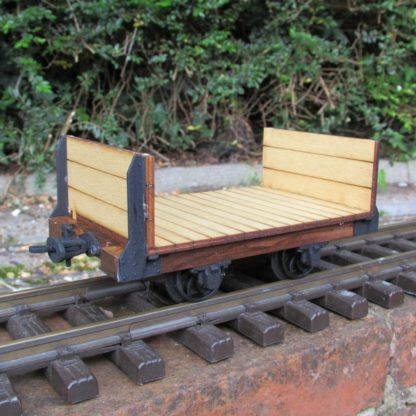 Trefor Flat wagon - general view