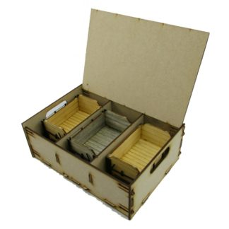 Trefor Triple Wagon Storage Box - example contents