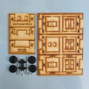 Trefor Wagon Chassis - Kit contents