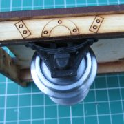 Southwold Railway Axle Guards - close up view