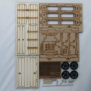side tipping wagon - kit contents