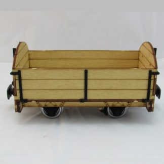 Southwold Open Goods Wagon - Side View