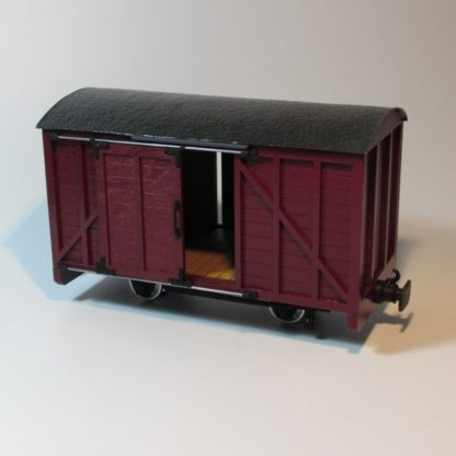 Southwold Luggage Van - Red Livery
