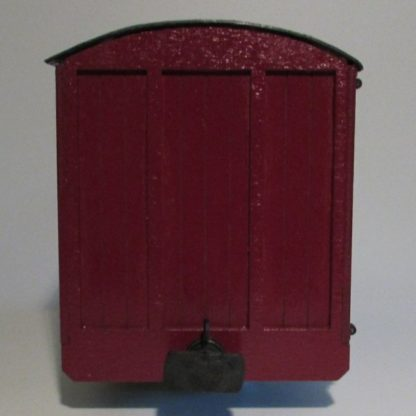Southwold Luggage Van - End view