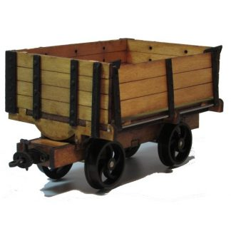 Grange Farm side tipping wagon -general view
