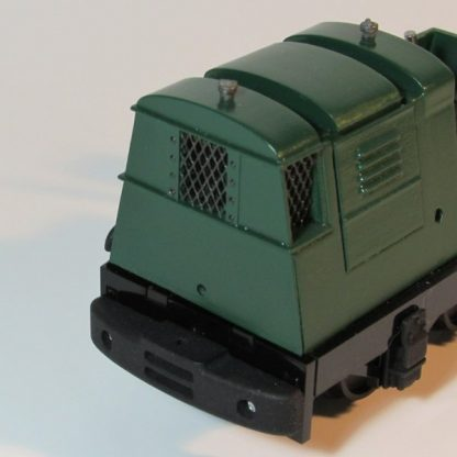 Ruston 20DL locomotive - radiator grills