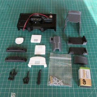 Ruston 20DL locomotive - kit contents