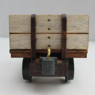End view of the Cornish slate wagon