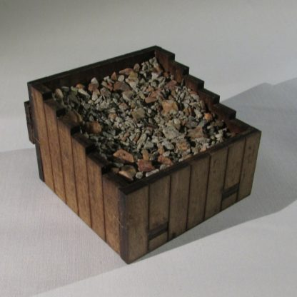 Wooden Buffer Stops - rear view
