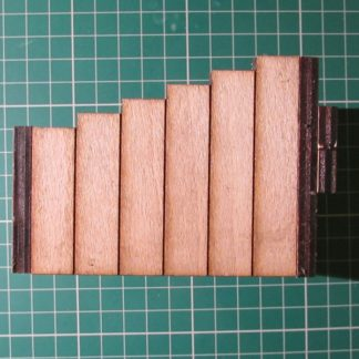 Wooden Buffer Stops - side view (untreated)