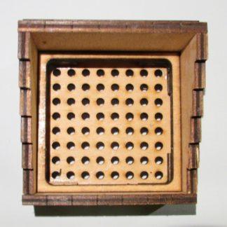 Wooden Buffer Stops - Inside view