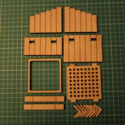 Wooden Buffer Stops - Kit contents