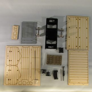 Permanent Way Department Tool Wagon - kit contents