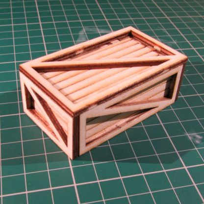 Medium Packing Crate - general view
