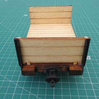 Trefor Flat wagon - end view