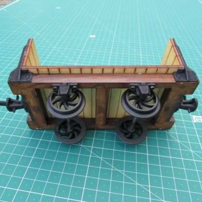 Trefor Flat wagon - axle boxes and wheels