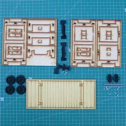Trefor Flat wagon - Kit Contents