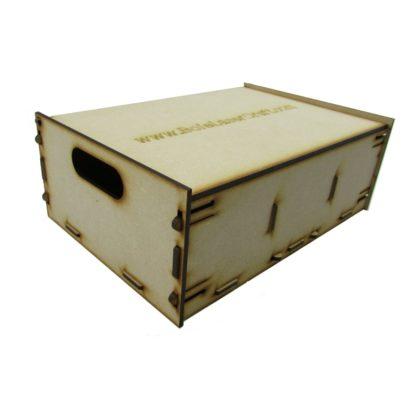 Trefor Triple Wagon Storage Box - General view