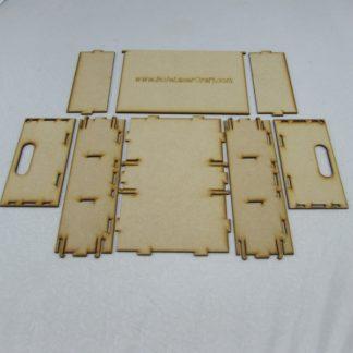 Trefor Triple Wagon Storage Box - Kit contents