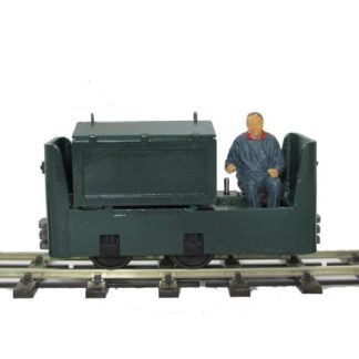 Greenbat BEV Locomotive - Side view