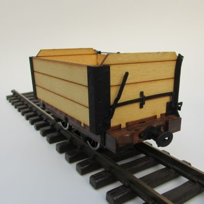 Trefor Mill Wagon -End view of 7/8 version