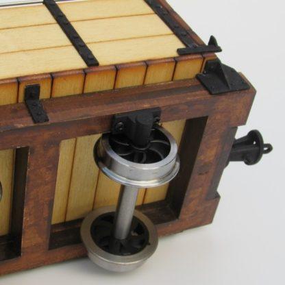 Trefor Mill Wagon - Slater's wheels on 7/8 version