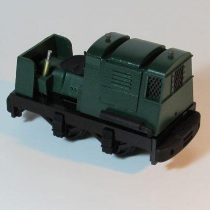 Ruston 20DL locomotive - general view