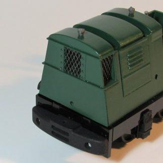 Ruston 20DL locomotive - radiator grills