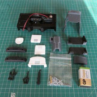 Ruston 20DL locomotive - kit contents