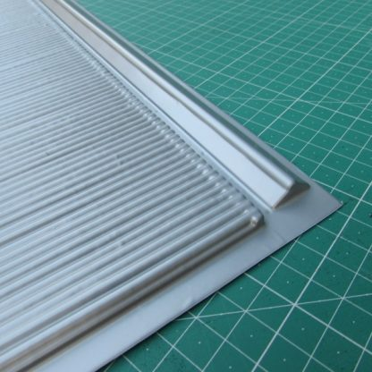 Corrugated Roofing Sheet -Close Up