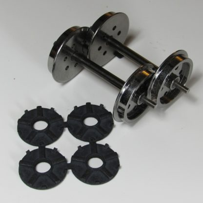 Accucraft 45mm gauge wheels - pack contents