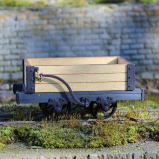 Talyllyn Three Plank Wagon - Side view