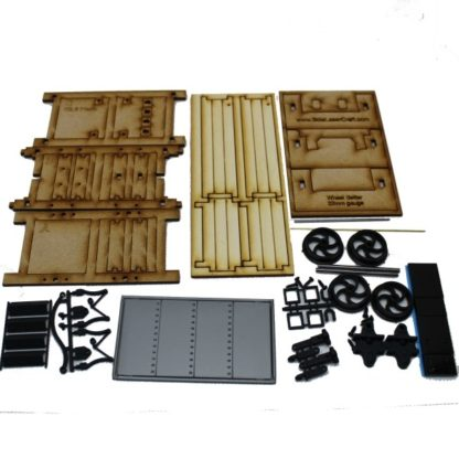 Talyllyn Three Plank Wagon - Kit contents